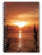 Bermuda Evening Spiral Notebook