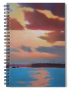 Bermuda Sunset Spiral Notebook