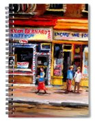 Bernard Barbershop Spiral Notebook