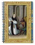 Bernard De Clairvaux Spiral Notebook