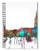 Berne Switzerland Skyline Spiral Notebook