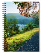Bernharts Dam Fall 12-25 Spiral Notebook