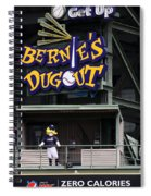 Bernies Dugout Spiral Notebook