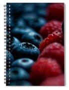 Berries Spiral Notebook