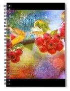 Berry Beautiful Spiral Notebook