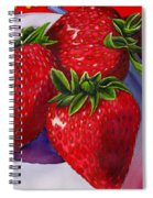 Berry Berry Berry Good Spiral Notebook