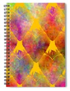 Berry Hearts - Food Pattern Spiral Notebook