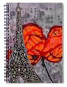 Beside You All The Way Spiral Notebook