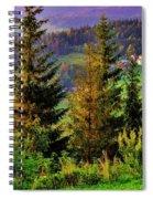 Beskidy Mountains Spiral Notebook