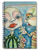 Best Friends 1 Spiral Notebook