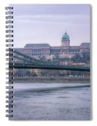 Best View Of Buda Castle Spiral Notebook