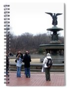 Bethesda Fountain Spiral Notebook