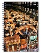 Bethlehem Steel Blower House Spiral Notebook