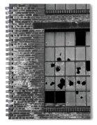 Bethlehem Steel Window Spiral Notebook