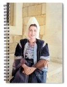 Bethlehem Traditional Dress 1940 Spiral Notebook