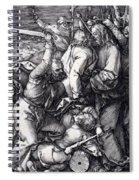 Betrayal Of Christ 1508 Spiral Notebook