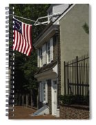 Betsy Ross House Philadelphia Spiral Notebook
