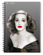 Bette Davis Draw Spiral Notebook