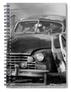 Better Days In Black And White Spiral Notebook
