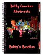 Betty Crocker's Abstracts - Betty's Bowties Spiral Notebook