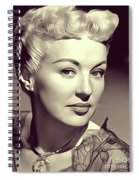 Betty Grable, Actress And Pinup Spiral Notebook