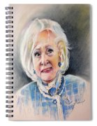Betty White In Boston Legal Spiral Notebook
