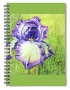 Betty's Iris Spiral Notebook