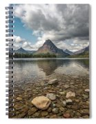 Between A Rock And A Beautiful Place Spiral Notebook