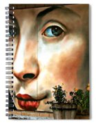 Between Closed Doors Spiral Notebook