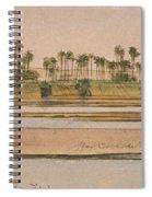 Between Derr And Ibreem Spiral Notebook