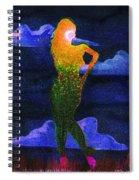 Between Her Words Spiral Notebook