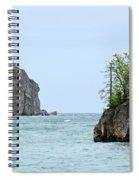 Between Rocks Spiral Notebook