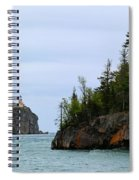 Between Rocks Panorama Spiral Notebook