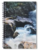 Betws-y-coed Waterfall Spiral Notebook