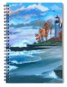 Betzie Lighthouse Spiral Notebook