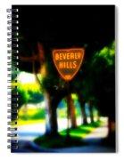 Beverly Hills Sign Spiral Notebook
