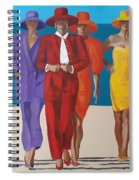 Bevy Of Beauties Spiral Notebook