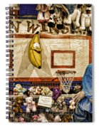 Beware The Smiling Banana  Spiral Notebook