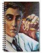 Beware The Wolf Spiral Notebook