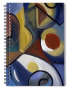 Beyond Blue Spiral Notebook
