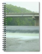 Beyond Otranto Dam Spiral Notebook