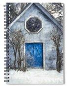 Beyond The Blue Door Pencil Spiral Notebook