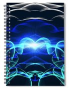 Beyond The Dark Clouds And Storms Spiral Notebook