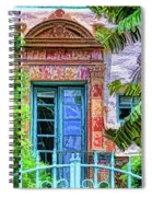 Beyond The Gate  Spiral Notebook