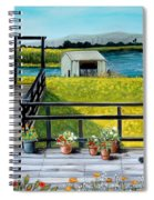 Beyond The Levee Spiral Notebook