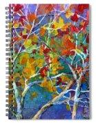 Beyond The Woods - Orange Spiral Notebook