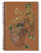 Bharatanatyam 11 Spiral Notebook