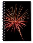 Bi-color Fireworks 2 Spiral Notebook