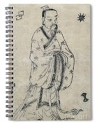 Bian Que, Ancient Chinese Physician Spiral Notebook