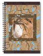 Bianco Vinaccia Spiral Notebook
